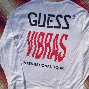 J. Balvin x Guess VIBRAS long sleeve